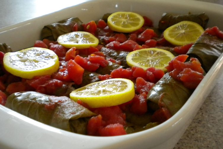 Mom's Stuffed Grape Leaves