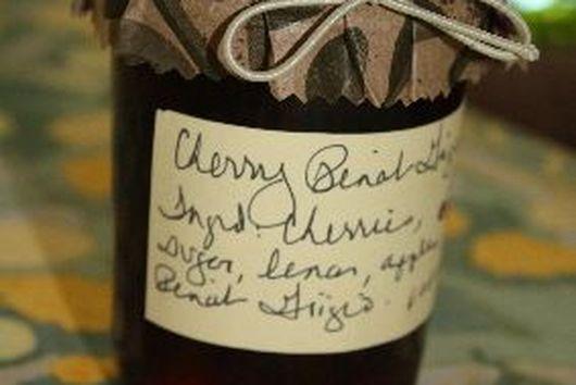 Sweet Cherry Pinot Grigio Jam