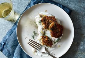 7ca3e0fb 5e73 4560 8923 d261bc5f61b1  2016 0705 middle eastern zucchini fritters with carrots and feta james ransom 217