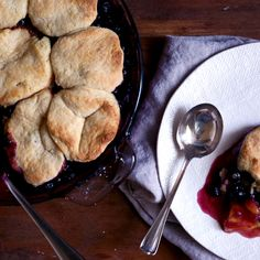 A Peach Cobbler with a Secret Ingredient (Beer!)