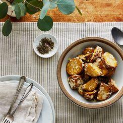 Garlicky Roasted Potato Salad