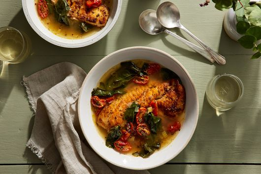 Creole Whitefish in Brodo