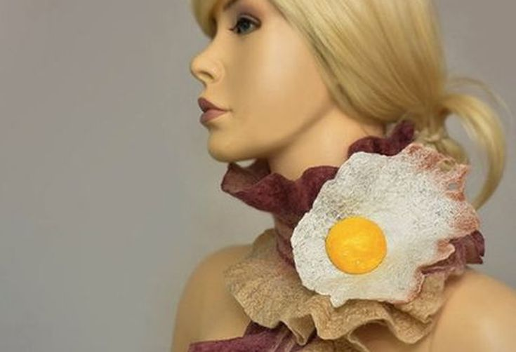 38cd9055-e8a1-4195-84e3-38963efb163b--bacon-scarf-a-fried-egg-brooch