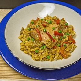 Arroz Con Pollo (chicken with rice)