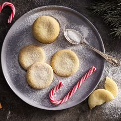 Almond Sugar Cookies