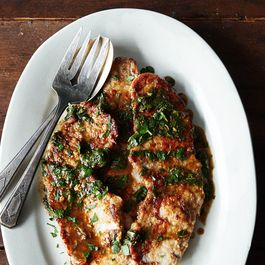 Veal Scallopine with Lemon and Parsley