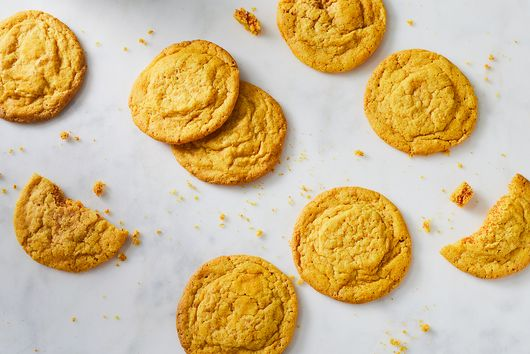 Turmeric Sugar Cookies