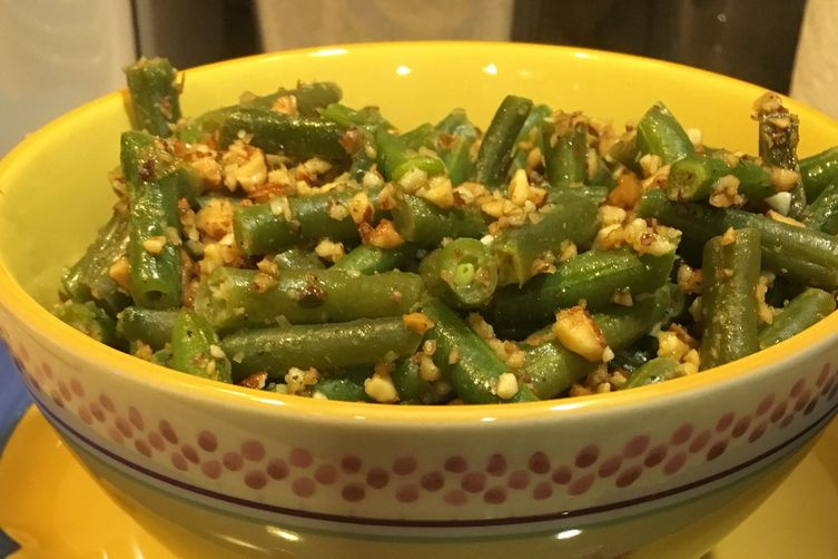 Not Your Momma's Green Bean Almondine