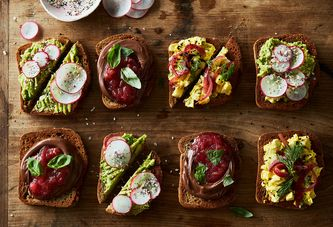 A Smørrebrød Bar Makes for Sweet and Simple Self-Serve Brunch