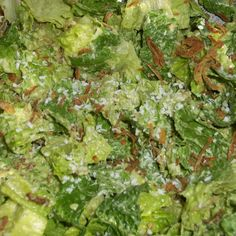 """Cesar"" salad with avocado coconut dressing"