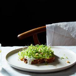 Fresh Herbs Labne Toast