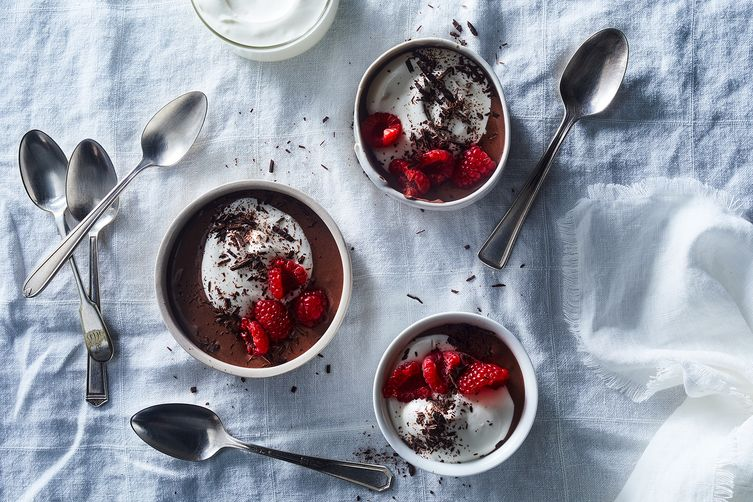 "Greek Yogurt Chocolate ""Pudding"""