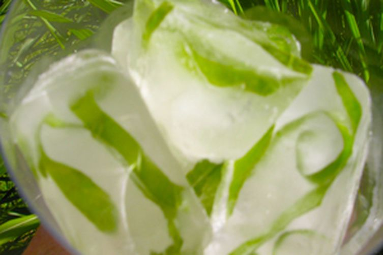 Herbal or citrus ice