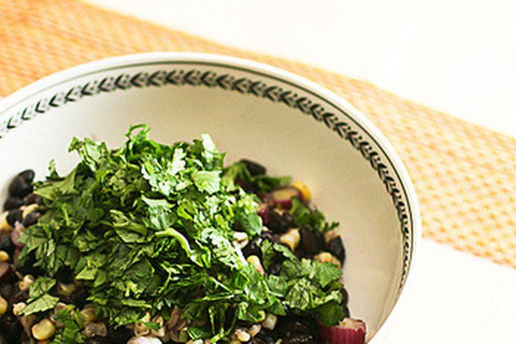 Roasted Corn and Black Bean Salad