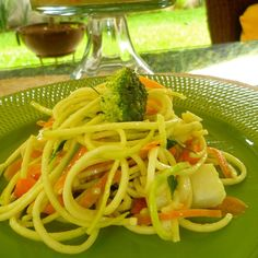 Creamy Zucchini Pasta