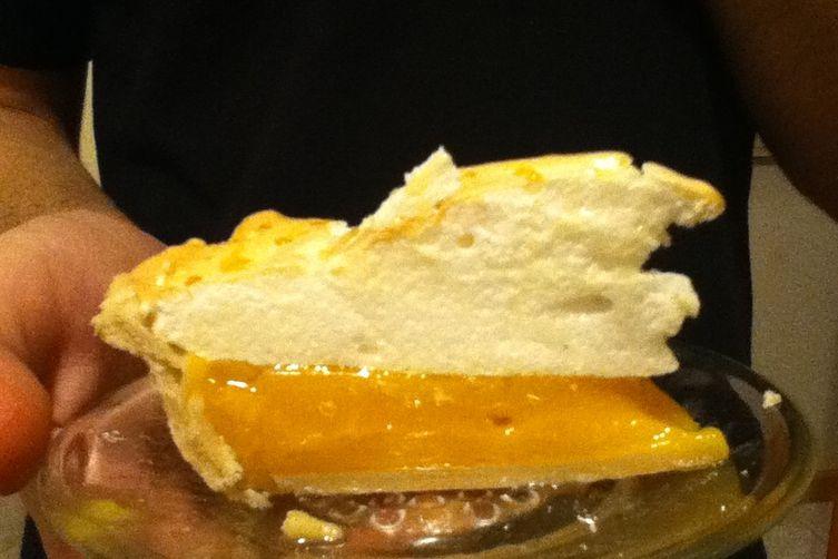 Passionfruit Meringue Pie