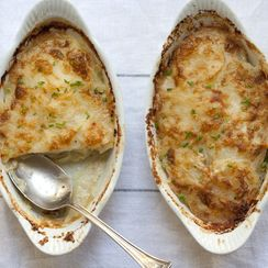 Potato Gratin with Green Chile
