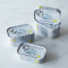 Portuguese Sardines in Olive Oil, 6-Pack