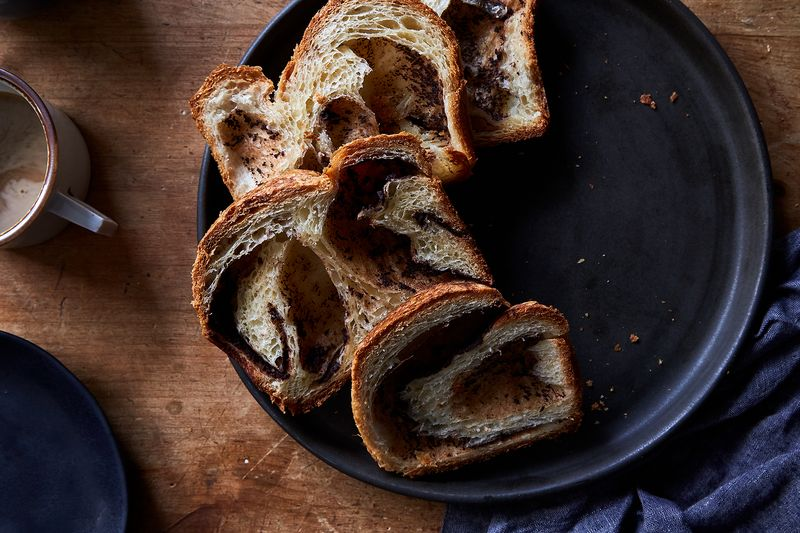 Pain au Chocolat Loaf