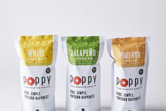 Handcrafted Popcorn Gift Bag, Set of 3