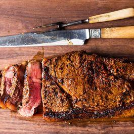 Steak for a Brooklyn Backyard Barbeque
