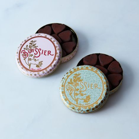 Parisian Chocolate Truffle Hearts (Set of 2)