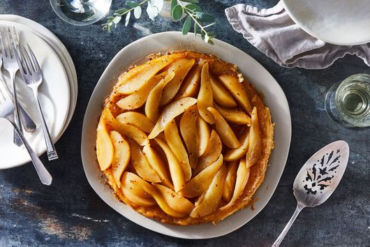 Pear Tarte Tatin with Aniseed Caramel