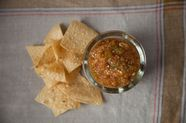 Grilled Tomatillo and Pineapple Salsa