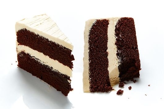 Fudgy Chocolate Cake with Peanut Butter Frosting