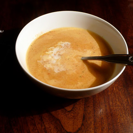 Potage Aux Poivrons Rouges (French Red Pepper Soup)