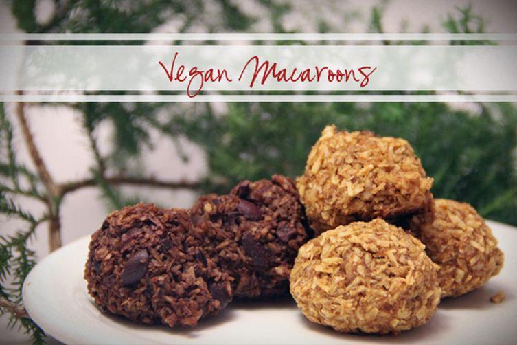 Vegan Macaroons - 2 Flavors