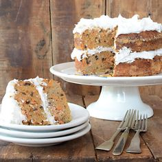 Nut-Free Paleo Carrot Cake