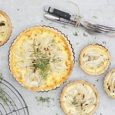 Green Kitchen Stories' Fennel and Coconut Tart