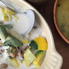 Patty Pan stew with coconut milk (Oallan)