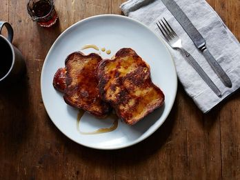 Fry French Toast in Ghee for Buttery Flavor Without the Burnt Bits