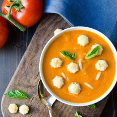 cream of tomato soup with orzo
