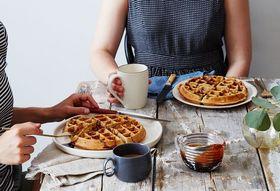 Afe05d9b e744 4116 80f7 986e28f460f7  2016 0617 ras al hanout pistachio belgian waffles with pomegranate honey syrup bobbi lin 25817