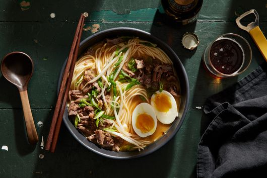 Spicy Miso Ramen in Oxtail Broth!