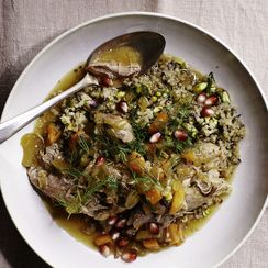 Martha Stewart's Slow-Cooker Persian Lamb Stew