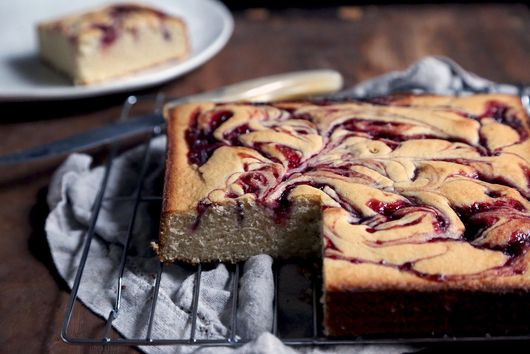 A Jam-Swirled Brown Butter (Perfect) Cake for Spring