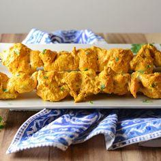 Tandoori Chicken Kebabs