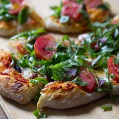 Julia Turshen's Hot Bread Pizza