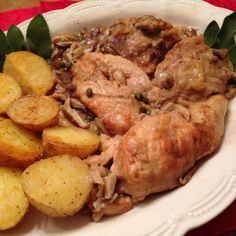 Braised Chicken Hunter Style