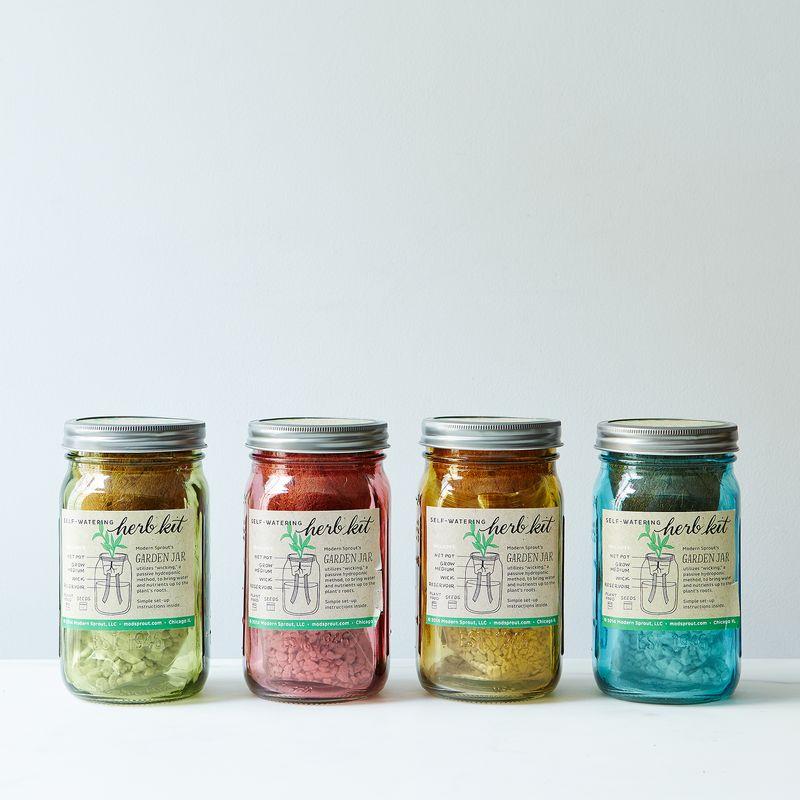 Herb Garden Jar Planter Silo