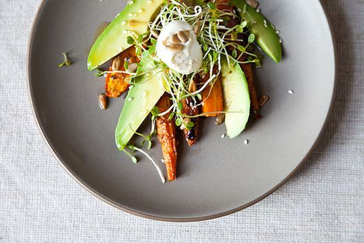 Serious Eats: Carrot Salad with Avocado