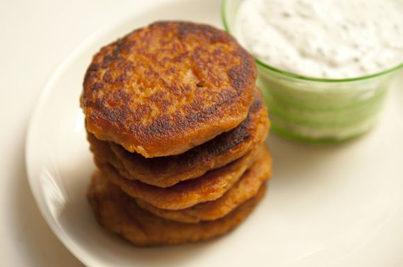 Orna & Ella's Sweet Potato Pancakes