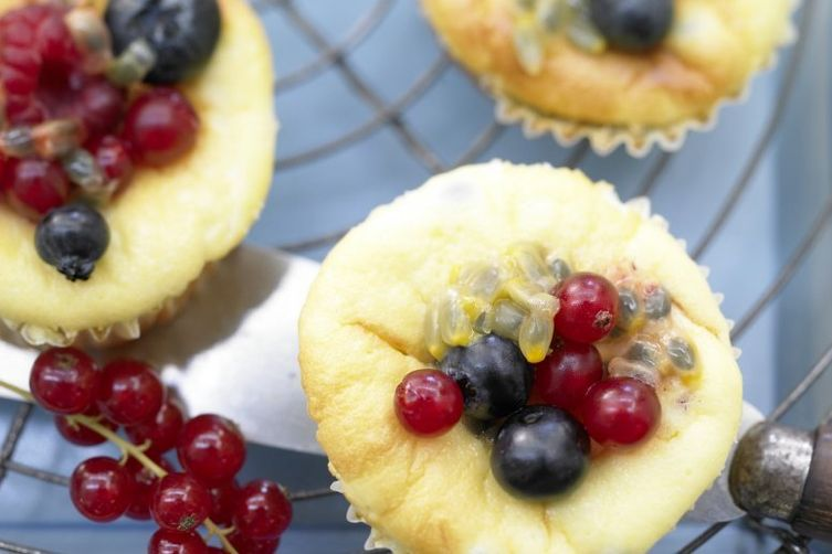 Passion Fruit Muffins
