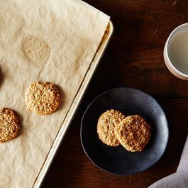 Honey–Almond Sesame Cookies