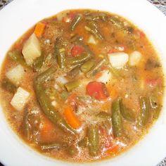 Green bean soup (Čušpajz od mahuna)