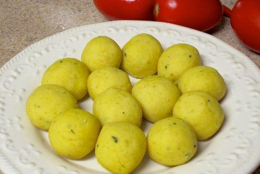 Curried Lentil Balls